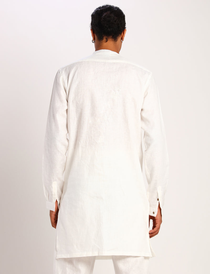 FREDDY KURTA - WHITE