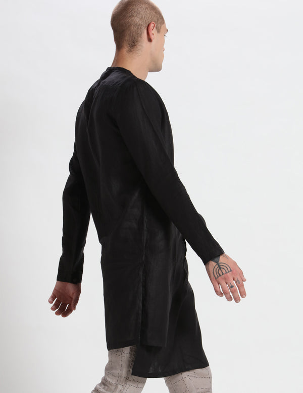 AIDEN KURTA - BLACK