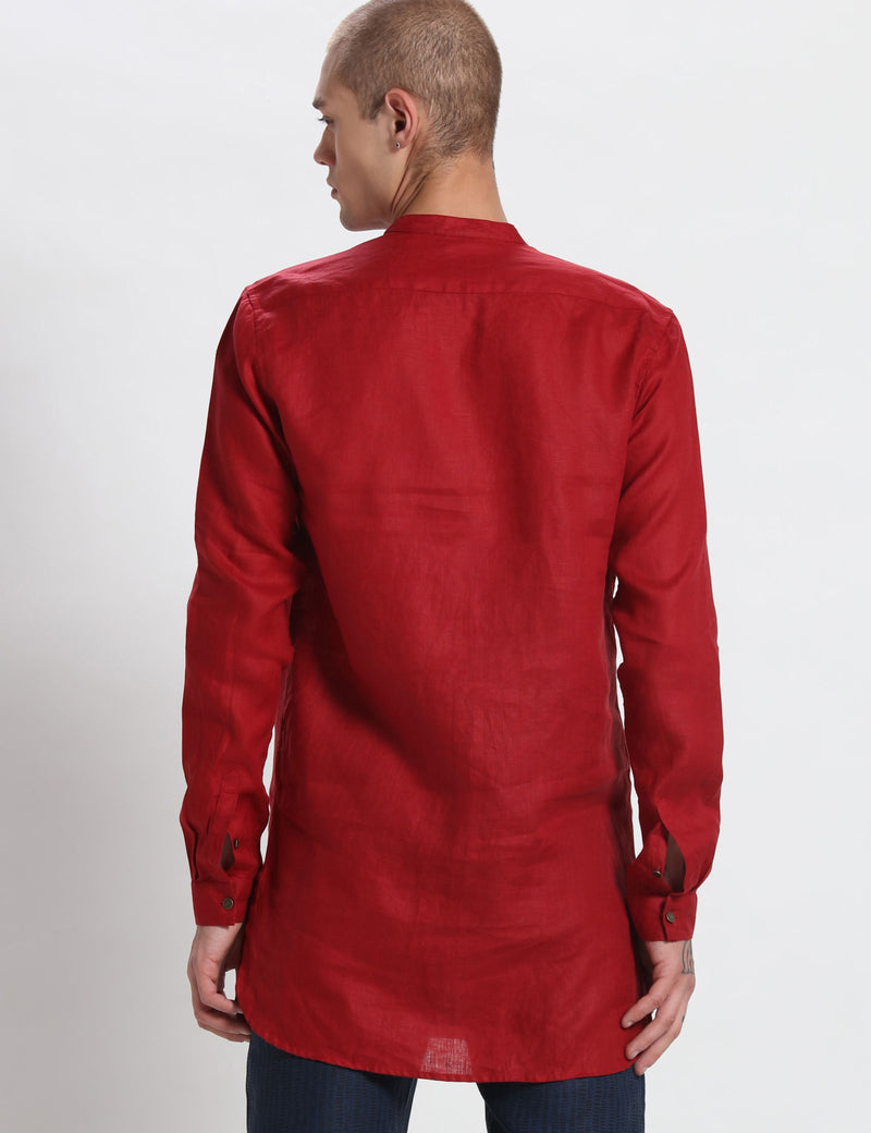 VAN KURTA - RED