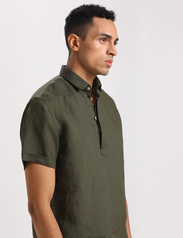 ATLANTA SHIRT - MILITARY GREEN