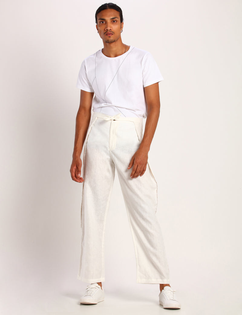 SENDAI TROUSER - WHITE