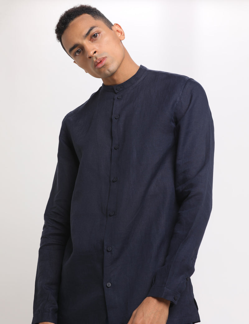 UBUD SHIRT - NAVY