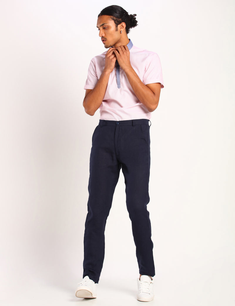 ZIPOCO TROUSER - NAVY