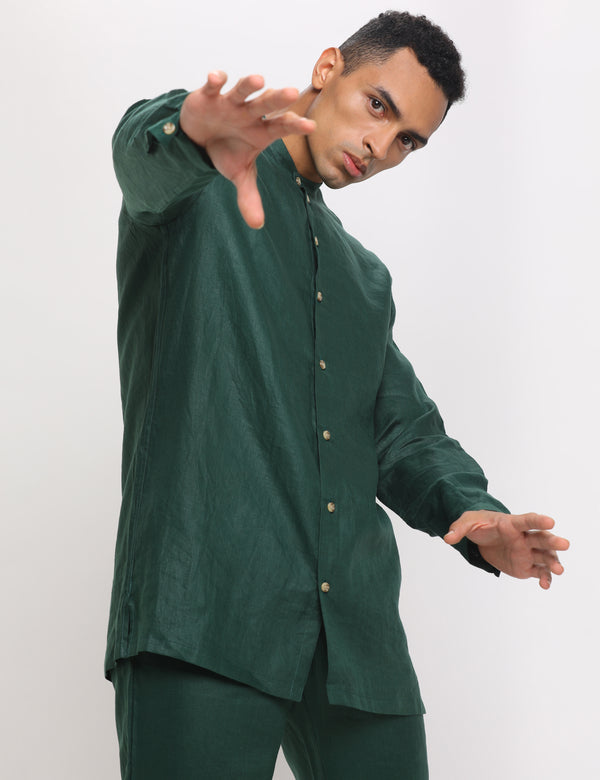 UBUD SHIRT - GREEN
