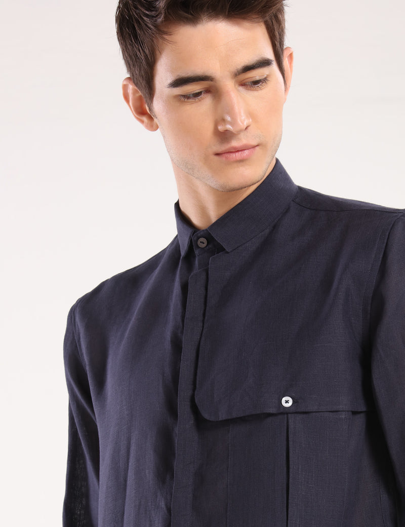 SALEM SHIRT - NAVY