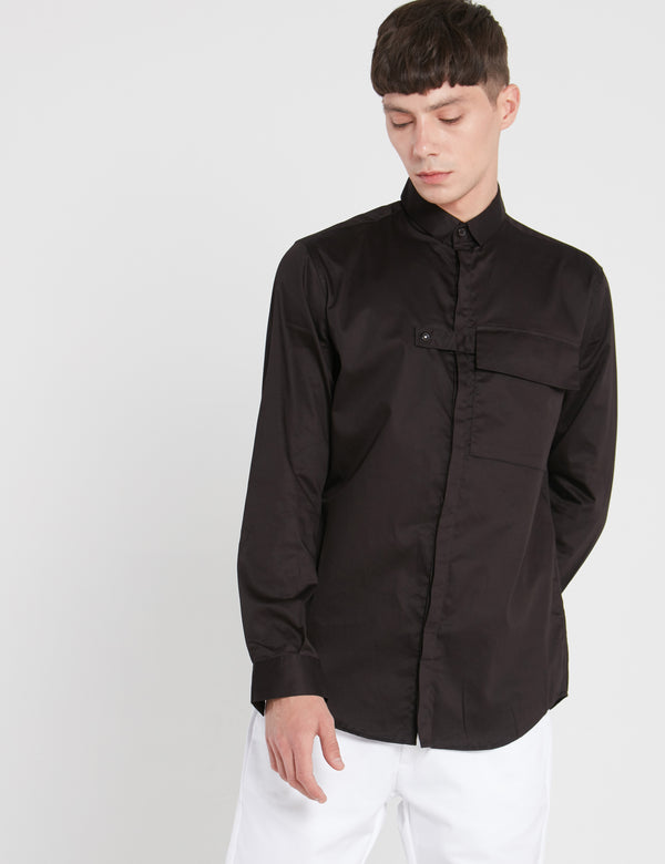 BUTNER SHIRT - BLACK