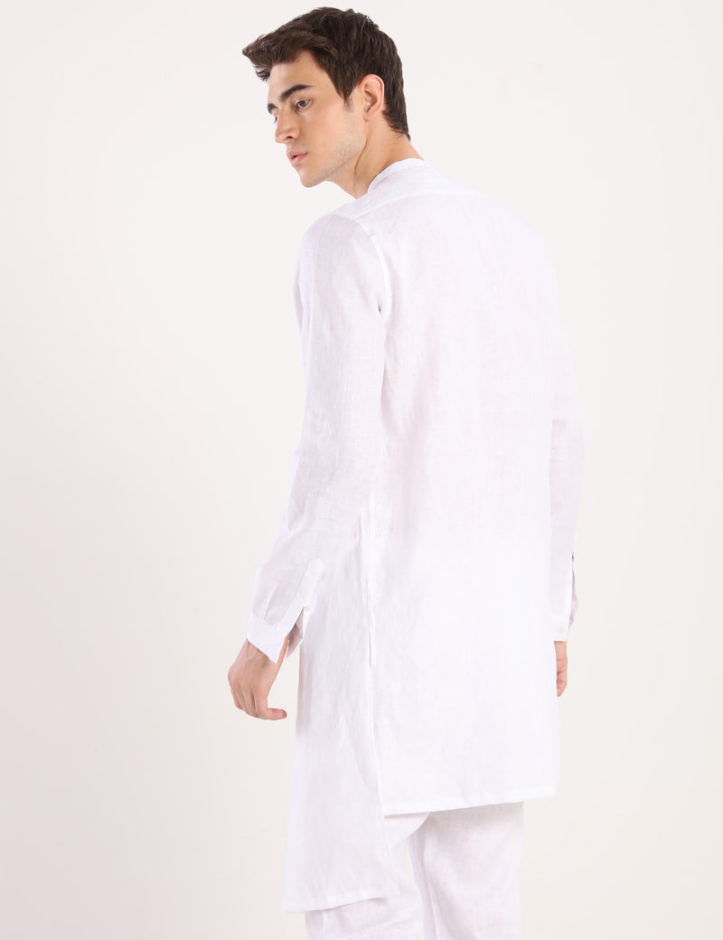 FOX KURTA - WHITE