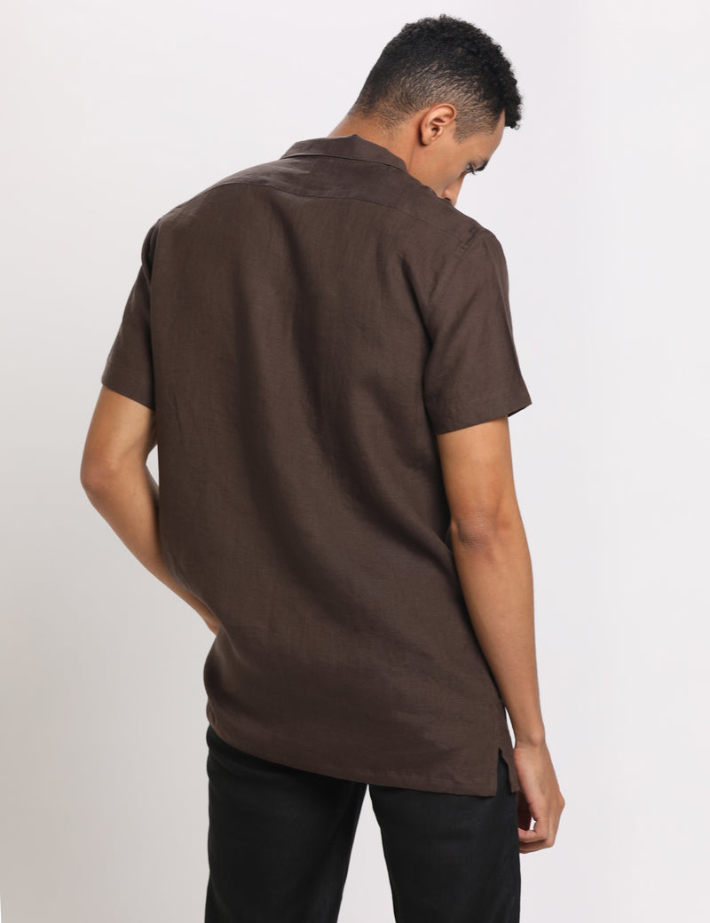 ALEX SHIRT - BROWN