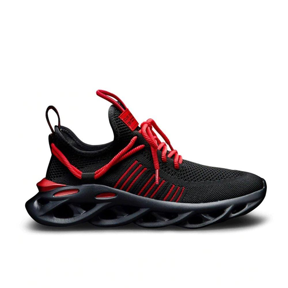 IRIS BLACK RED Men - Urbanlife.cl - SNEAKER