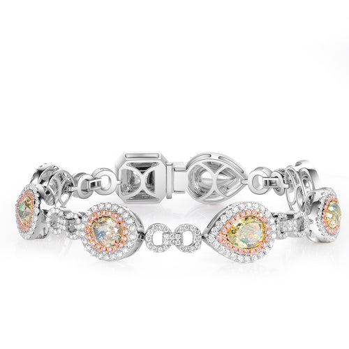 La Reine Diamond Bracelet - aviadiamonds