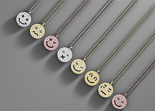 Load image into Gallery viewer, Smiley Diamond Necklace - aviadiamonds