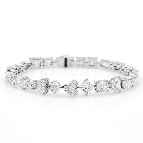 Constellation White Diamond Bracelet - aviadiamonds