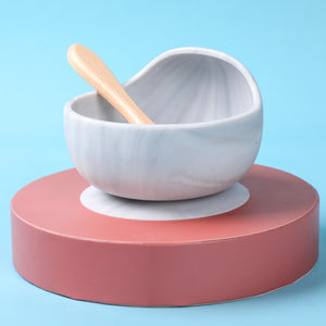 Open image in slideshow, Bowl and Spoon