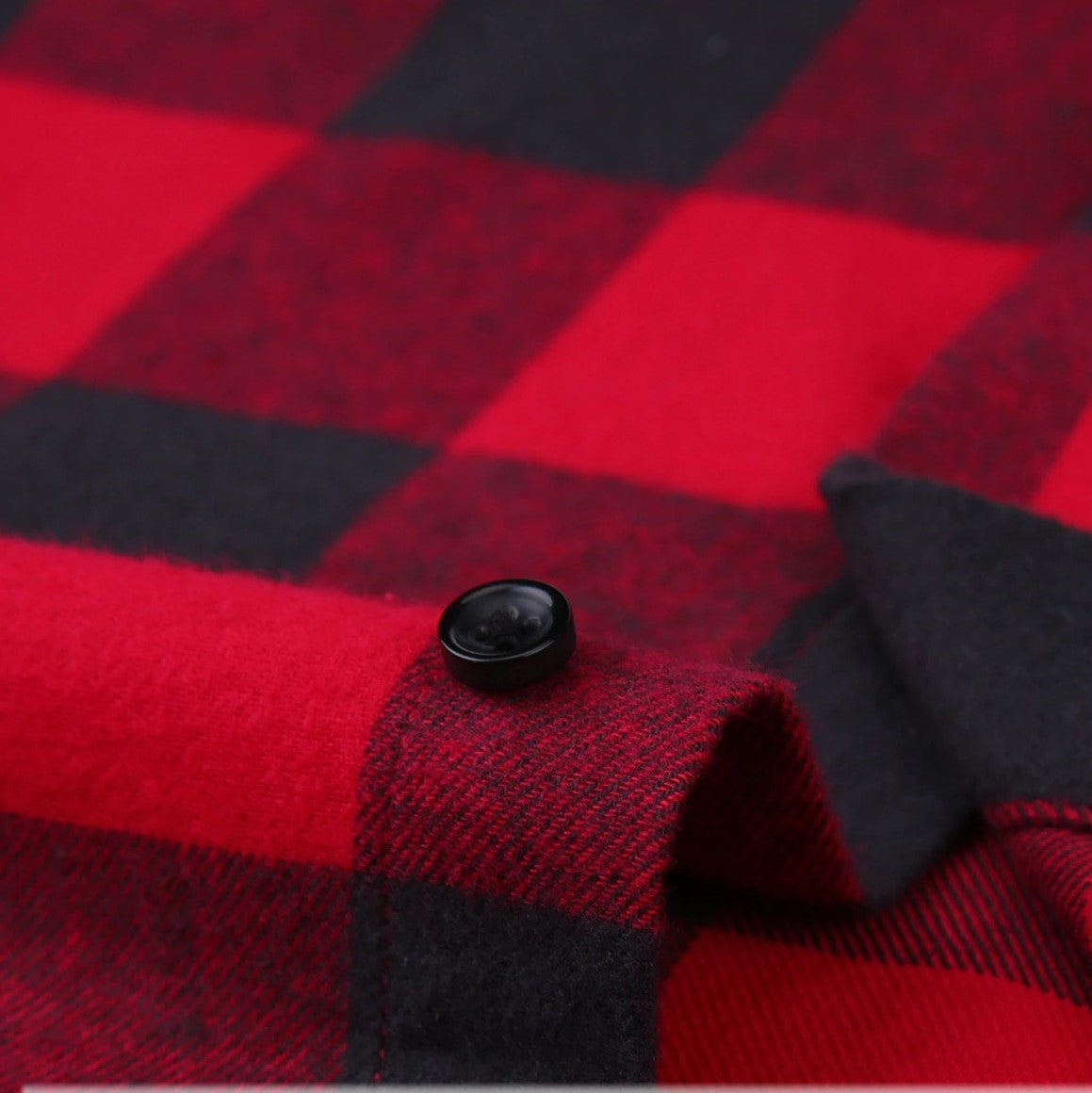 Flannel Men's Plaid Shirt