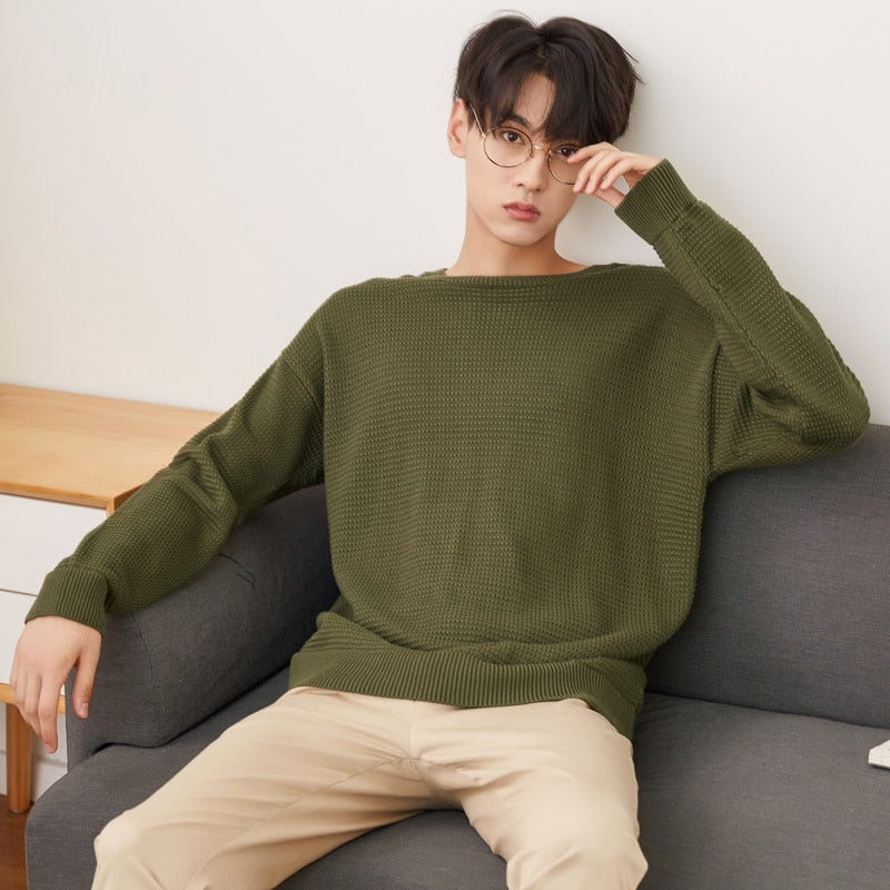 Knitted Sweater Long Sleeve
