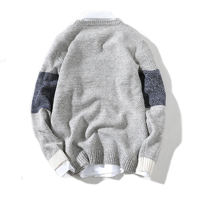 Pullover Knitted O-Neck
