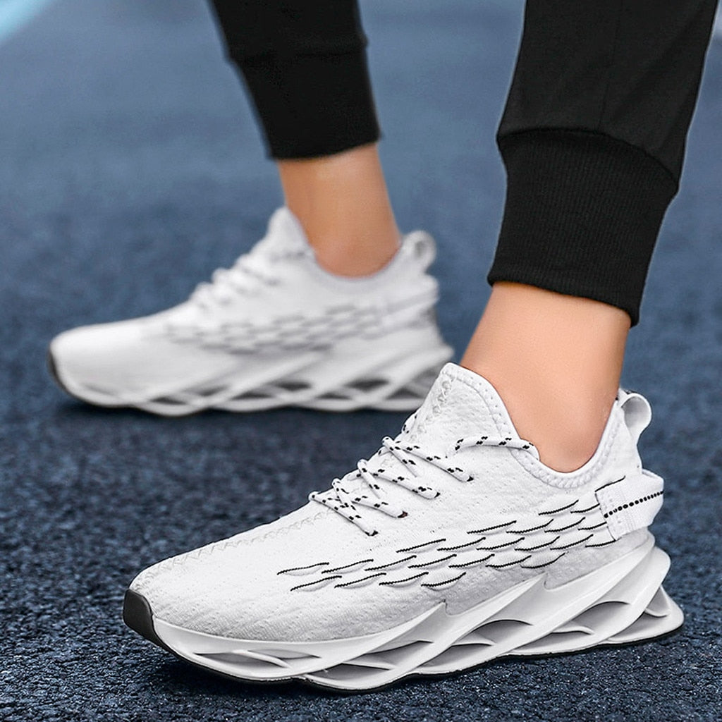 Mesh Lace-Up Sneakers