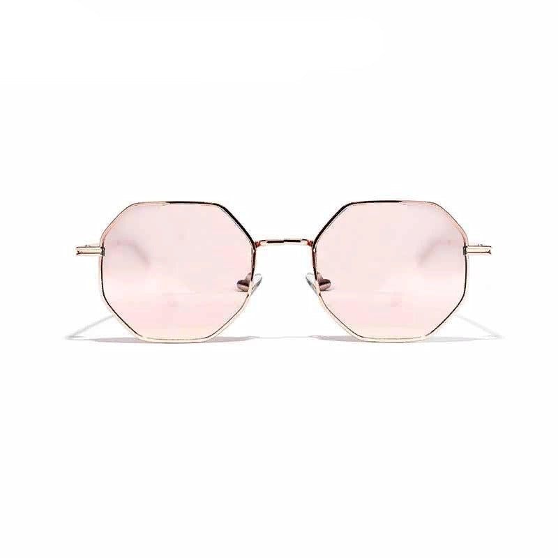 Hexagonal Sunglasses Retro