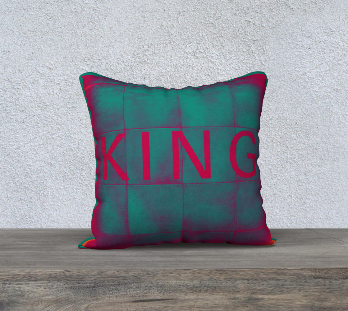 King Station TTC Pillow Cover