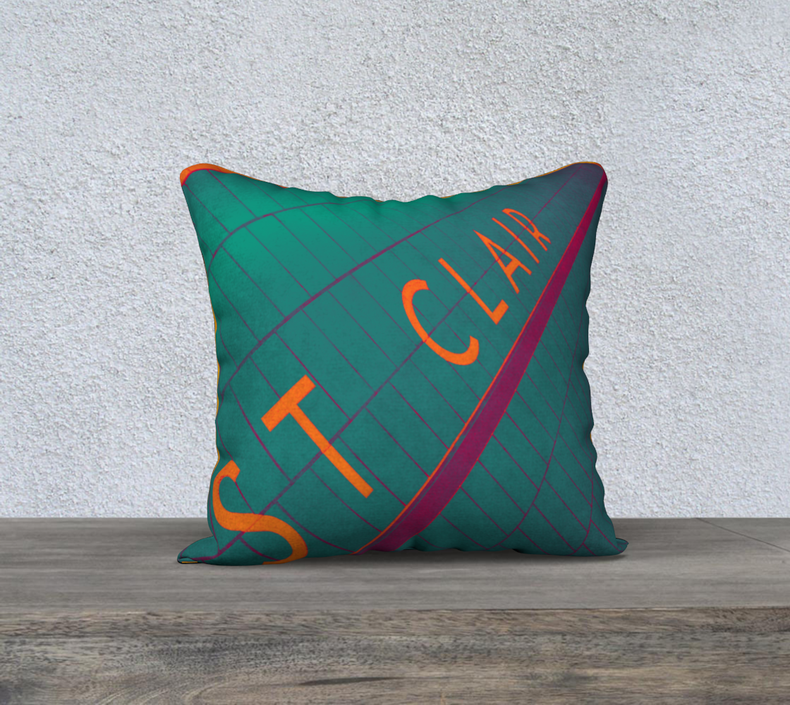 St Clair Station TTC Pillow Cover