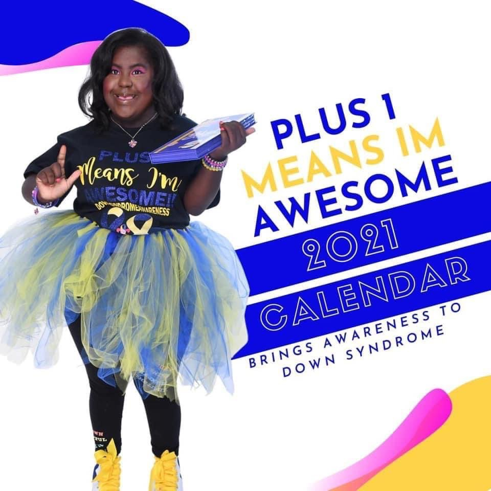 Plus 1 Means I am Awesome Calendar 2021