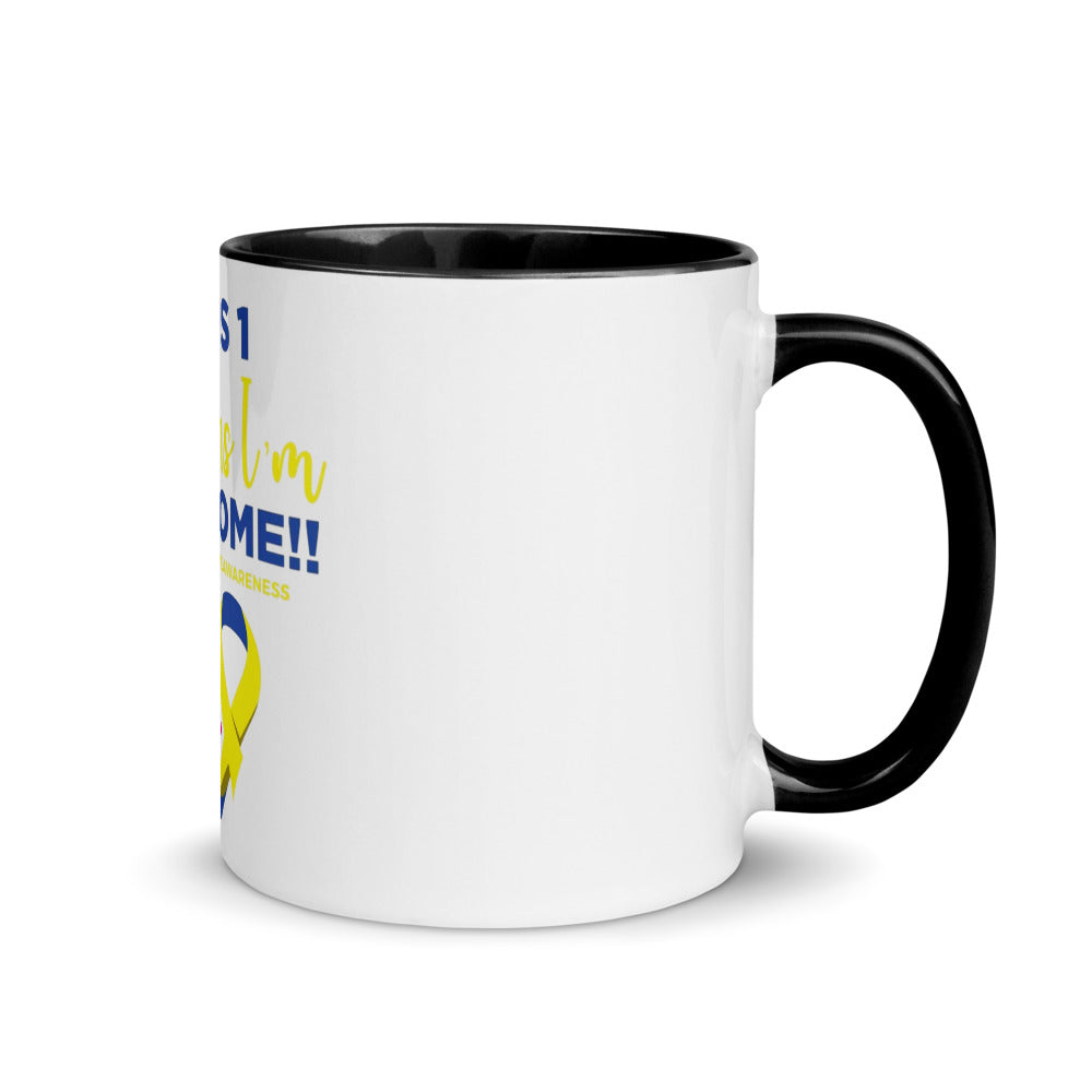 Plus 1 Mug with Color Inside