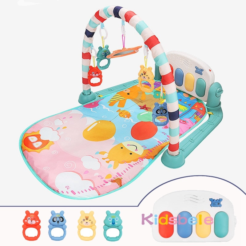 Baby Rattle Play Mat