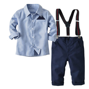 Baby Boy Striped Long Sleeve Set