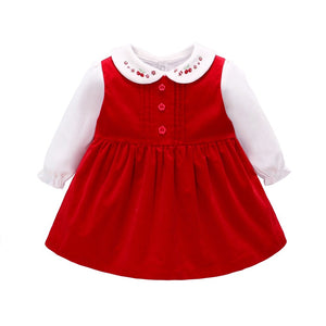 Cute Baby Girl Red Dress