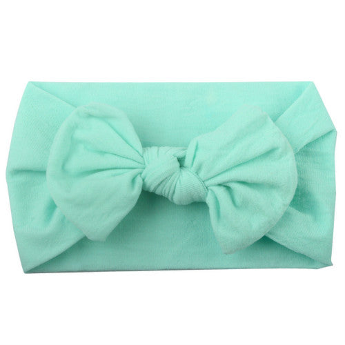 Girls Head Wrap Bow
