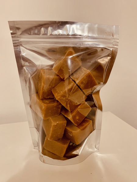Vegan Salted Caramel Fudge
