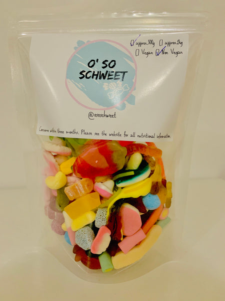 500g Non-Fizzy Sweets