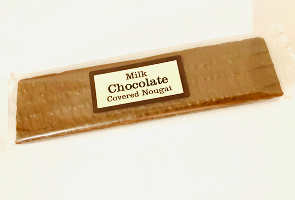 Milk Chocolate Covered Strawberry Nougat Bar