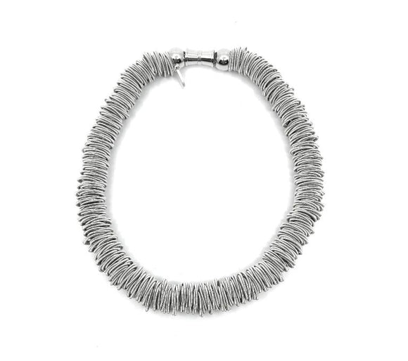 Silver Spring Ring Necklace