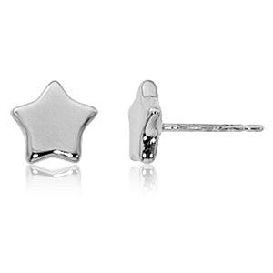 Carla Star Sterling Silver Stud Earrings