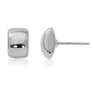 Carla Med Modern Sterling Silver Earrings