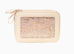 Voyager Jewelry Case- Blush Lace