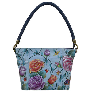 Anuschka Roses D Amour Medium Tote