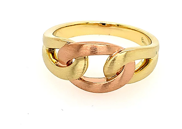 Breuning Gold Interwoven Ring