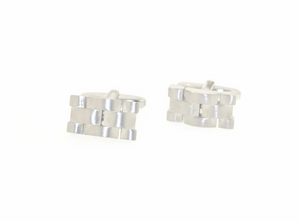 Breuning SS Interwoven Cufflinks