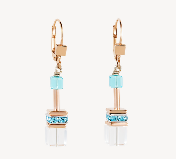 GeoCUBE® Earrings multicolour-crystal