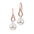 Imperial 14k Brush and Bright Earrings