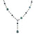 Sterling Tahitian Pearl Necklace