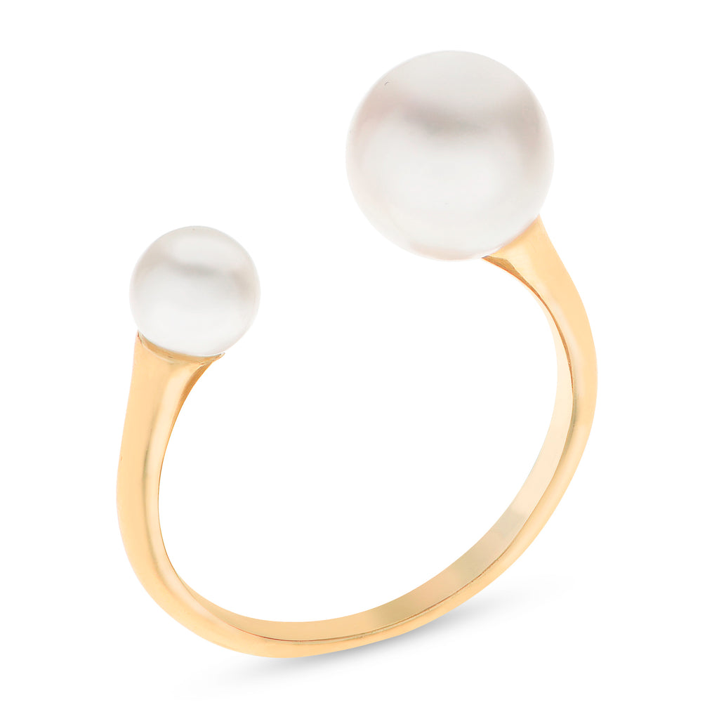 Imperial Pearl Accents 14KT Freshwater Pearl Ring