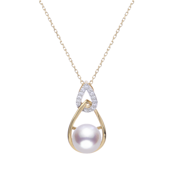 Imperial 14K Yellow Gold Akoya Pearl Pendant