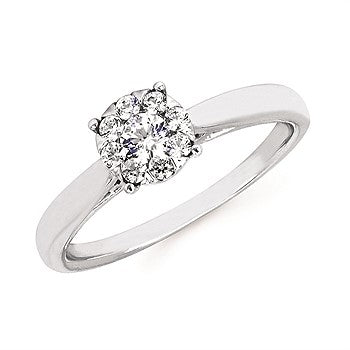 I Cherish™ .25Ctw Round Diamond Ring