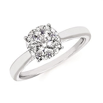I Cherish™ .50Ctw Round Diamond Ring