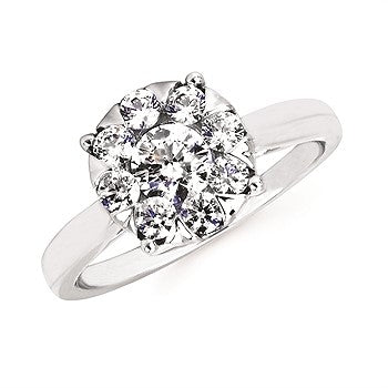 I Cherish™ 1.00Ctw Round Diamond Ring