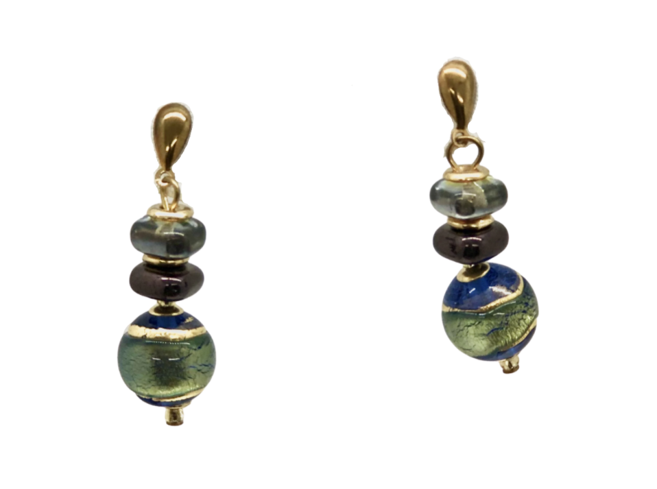 "Blue ""Verona"" Earrings"
