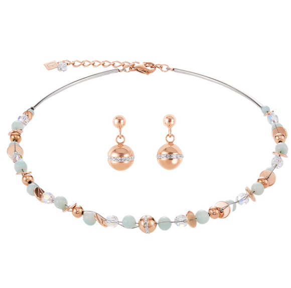 Twisted Pearl Set